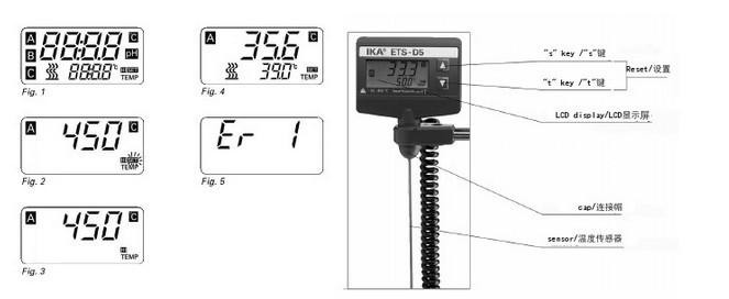 ets-d5电子接触式温度计使用说明书