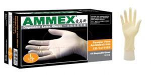 美国爱马斯Ammex一次性乳胶手套